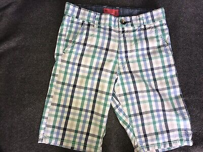 Next Boys Checked Shorts Size 12 Years  • 7£