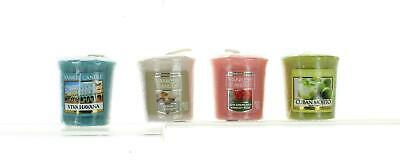 Yankee Candle Set Of 4 Votive Sampler Candles Mixed Fragrance Selection • 6.99£