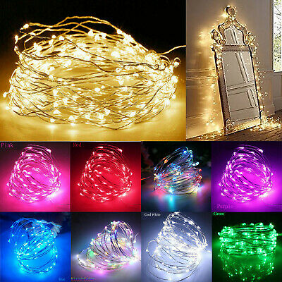 £1.23 • Buy 1M-10M LED String Fairy Lights Battery Operated Copper Wire Chirtmas Party Decor