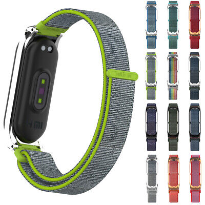 $3.98 • Buy Strap Nylon Fiber Band Replacement Wristband Breathable For Xiaomi Mi Band 4 3