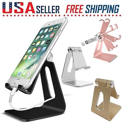 $8.49 • Buy Cell Phone Tablet Switch Stand Aluminum Desk Table Holder Cradle Dock IPhone