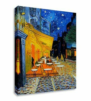 £17.99 • Buy Van Gogh Cafe Terrace At Night Wall Canvas Wall Art Picture Print