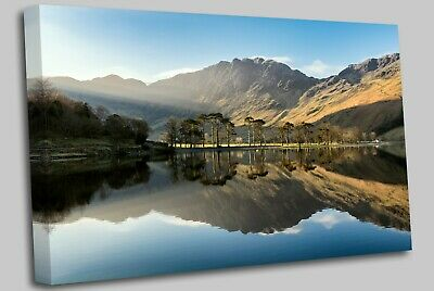 Buttermere Lake District Canvas Wall Art Picture Print • 21.99£