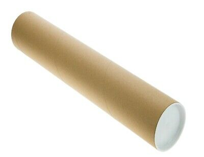 $23.09 • Buy Mailing Tubes With Caps 3  Diameter, Choose Length & Pack Size  | Tubeequeen™