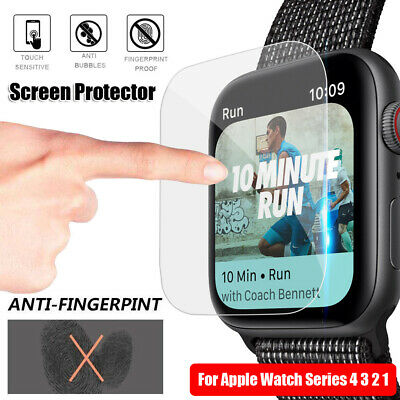 $ CDN3.05 • Buy Apple Watch Series 4 3 2 1 TPU Protective Film Screen Protectors Hydrogel