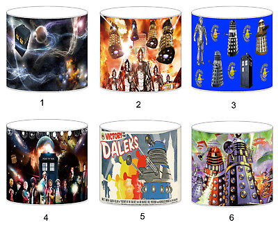 Dr Who Daleks Childrens Lampshades Ceiling Light Table Lamp Bedding Curtains • 29.99£