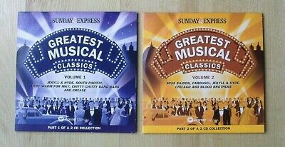Greatest Musical Classics South Pacific, Blood Brothers Set Of Two Promo CDs  • 1.49£