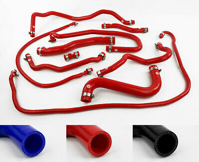 £154.95 • Buy Silicone Coolant Hoses Fit Ford Fiesta MK6 Facelift ST150 Stoney Racing Radiator