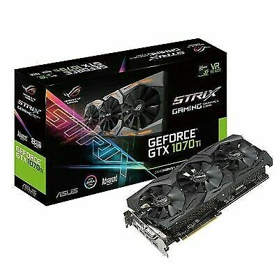 $ CDN981.94 • Buy ASUS ROG Strix GeForce GTX 1070 Ti 8GB GDDR5 Advanced Edition VR Ready NEW