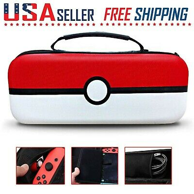 $14.99 • Buy Nintendo Switch Pokemon Carrying Case Portable Travel Protective Hard Bag Guard