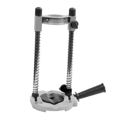 Perfect Drill Guide Stand Drill Holder Adjustable 45°Angle Positioning Bracket • 11.49£