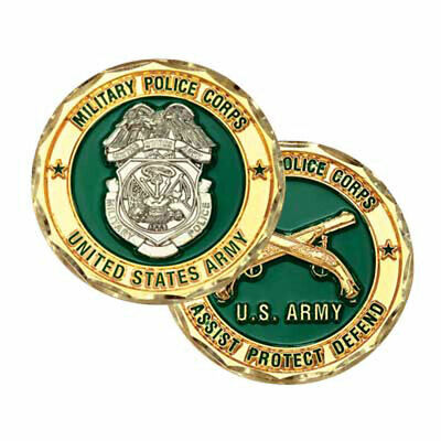 military police coin