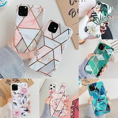 AU9.99 • Buy For IPhone 11 Pro Max XR XS MAX 7 8 PLUS Soft Case Marble Silicone Cover