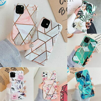 AU8.55 • Buy IPhone 11 Pro Max XR XS MAX 7 8 PLUS Soft Case Marble Shockproof Silicone Cover