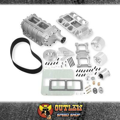 AU7719.75 • Buy Weiand 6-71 Blower System Fits Big Block Chev Roots 8% Under Polished - Wm7583p