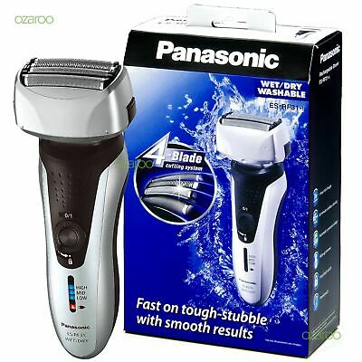 £54 • Buy Panasonic 4-Blade Men's Electric Shaver Wet/Dry With Flexible Pivoting Foil Head
