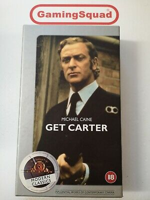 Get Carter (Cardboard) (ALT) VHS Video Retro, Supplied By Gaming Squad  • 6.99£