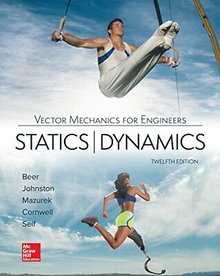 Vector Mechanics For Engineers - Statics And Dynamics 12th Int'l Edition • 25.69£