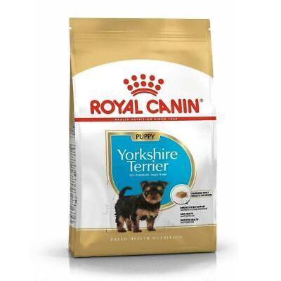 Royal Canin Yorkshire Terrier Dry Puppy Dog Food, Breed Health Nutrition - 1.5kg • 16.21£
