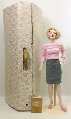 The Franklin Mint Marilyn Monroe Sweater Girl Porcelain Collector Doll • 154.38£