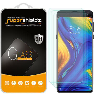 $7.99 • Buy [3-Pack] Supershieldz Tempered Glass Screen Protector For Xiaomi Mi Mix 3