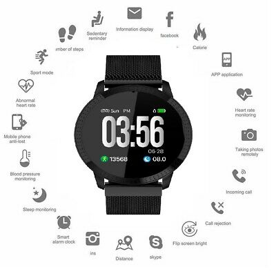 AU45.12 • Buy 2020 Smartwatch Waterproof Smart Watch IP68 All-Day Heart Rate Activity Tracking