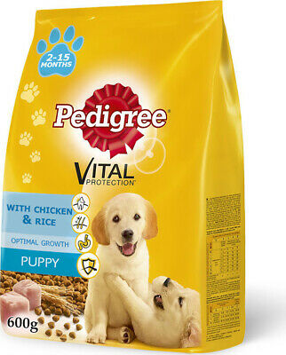 £3.63 • Buy Dry Food  Pedigree  For Puppies Of All Breeds, With Chicken, 600 Gr