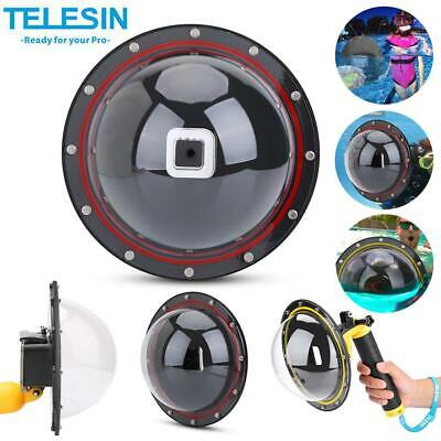 $ CDN14.71 • Buy TELESIN Dome Port Waterproof Case Housing For GoPro Hero 3/4/5/6/7 Sports Camera