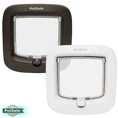 PetSafe Staywell Cat Flap Door Multi-Locking 4-Way Manual CATFLAP, TUNNELS • 12.49£