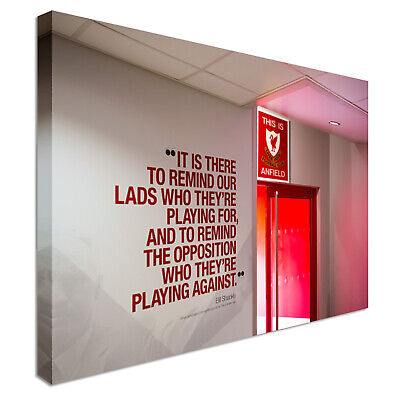 £17.99 • Buy Liverpool Anfield Dressing Room Canvas Wall Art Picture Print