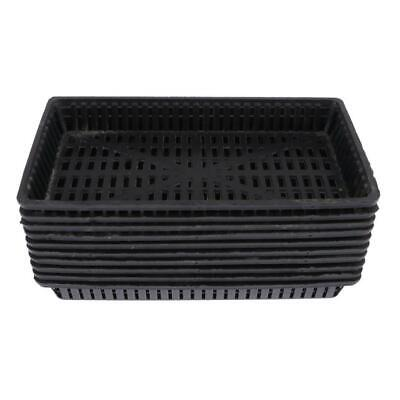 10x Aquatic Pots Baskets Water Plant Basket For Underwater And Pond Plants • 4.56£