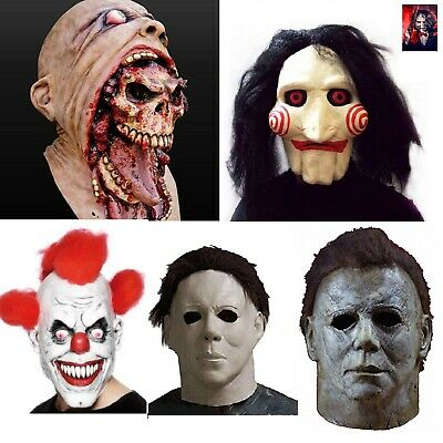 £7.45 • Buy SCARY Horror HALLOWEEN MASK Zombie Saw Billy Michael Myers Clown Cry Baby Mask