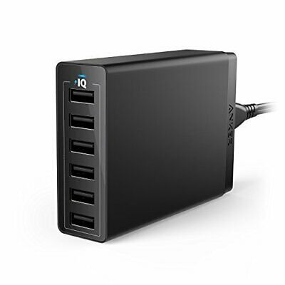 AU62 • Buy Anker 60W 6-Port USB Wall Charger PowerIQ And VoltageBoost