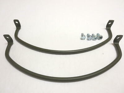 $48 • Buy Vintage Military Willys Jeep M38 G740 US Made Headlight Guard Set