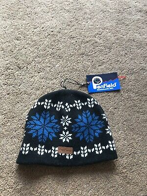 Penfield Wool Winter Hat Snowflake Authentic One Size • 20£