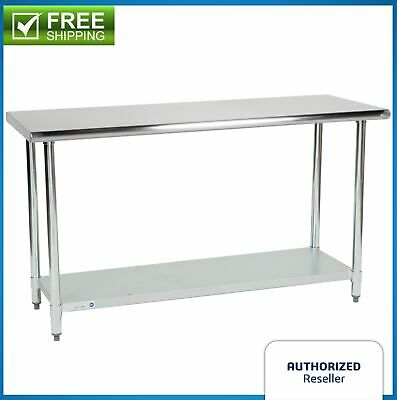 $137.80 • Buy Commercial Kitchen 24  X 60  Stainless Steel Work Food Prep Table NSF Counter