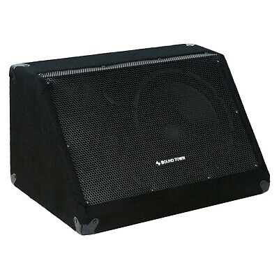 """$93.49 • Buy Sound Town Passive DJ PA Stage Monitor Speaker 10"""" 300W With Driver METIS-10M"""