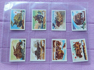 Trade Issue - Kelloggs - Full Set 15 Cards - Vehicles Of War  • 15.99£