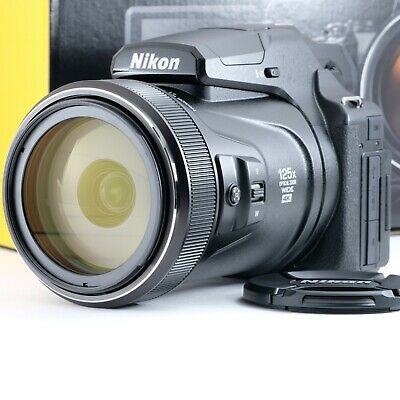 AU1575 • Buy  New 3000mm Telephoto!  Nikon Coolpix P1000 (JP) Shipping From Japan