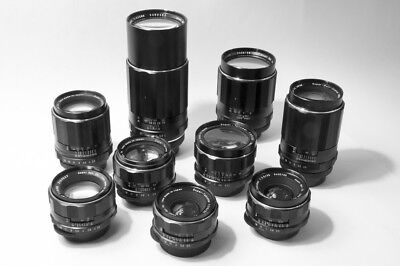 AU999 • Buy Asahi Pentax Takumar - M42 Screw Mount - Collection - Lenses, Body, Accessories.