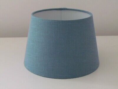 £33.50 • Buy Small Empire Teal Tapered Lampshade Teal 100% Linen Choice Of Colours