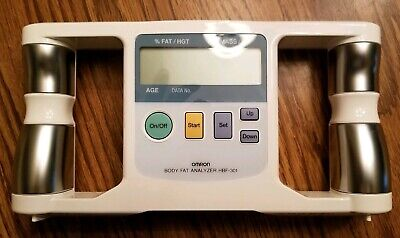 Omron Body Logic Body Fat % Analyzer HBF-301 Diet Exercise Healthy Track Loss  • 18.99$
