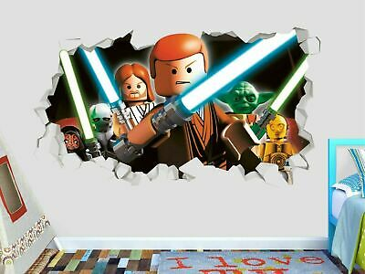 £32.13 • Buy Lego Star Wars Combat Wall Decals Stickers Mural Home Decor For Bedroom Art GS53