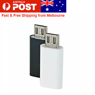 AU5.49 • Buy USB C Type C Female To Micro USB Male Adapter Converter Connector