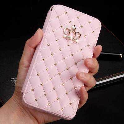 AU14.95 • Buy Women Girl Wallet For IPhone 11 Pro Max Xs Xr 6s 7 8 Plus Case Flip Stand Cover