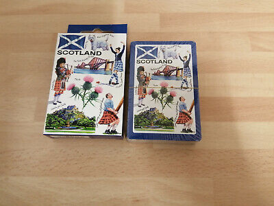 Pack Of Scottish Themed Playing Cards • 2.99£