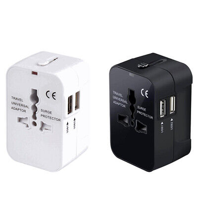 AU17.49 • Buy Universal Travel UK USA EURO AUS To USA Japan Canada AC Power Plug Adapter AU