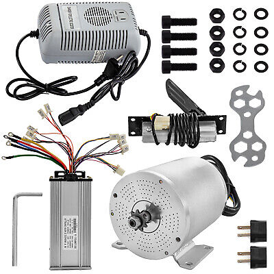 48V 1800W Electric Brushless Motor Controller Throttle Pedal Charger Kit F ATV • 106.98£