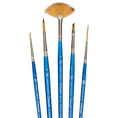 £7.65 • Buy Winsor & Newton Cotman Watercolour Paint Brushes In Assorted Shapes & Sizes