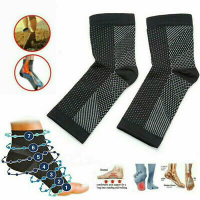 Dr Sock Soothers Socks Anti Fatigue Compression Foot Sleeve Support Brace Sock • 2.59£